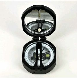 Black Survey Instruments' Accessories Geology Metal Compass With Mirror